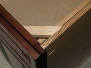 plywood cabinet